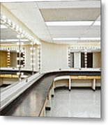 A Theater Dressing Room Metal Print by Greg Stechishin