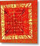 A Total Burst Of The Heart Metal Print