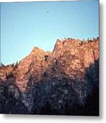 A Touch Of Alpenglow Metal Print