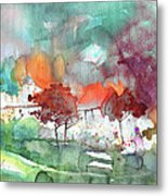 A Town On Planet Goodaboom Metal Print