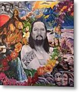 A Tribute To Willie K Metal Print