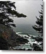 A Tricky Acadian Cove Metal Print
