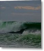 A Turbulent Sea On A Stormy Morning 2 Metal Print