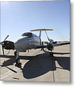 A  Uc-12f King Air Aircraft Metal Print