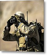 A U.s. Air Force Combat Controller Uses Metal Print