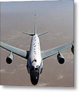 A U.s. Air Force Rc-135vw Rivet Joint Metal Print