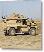 A U.s. Army Cougar Mrap Vehicle Metal Print