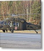 A U.s. Army Uh-60l Blackhawk Metal Print