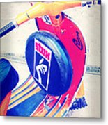 A Vespa With Style Metal Print