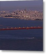 A View From Marin Headlands Metal Print