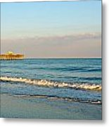 A View From The Beach Metal Print