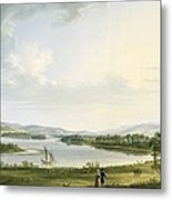 A View Of Knock Ninney And Part Of Lough Erne From Bellisle - County Fermanagh  Metal Print