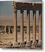 A View Of More Ruins From The Columns Metal Print