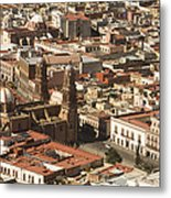 A View Of The Historic Center Metal Print