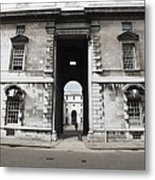 A View Of The Royal Naval College Metal Print