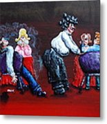 A Waiter's Revenge - Silent But Deadly Metal Print