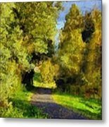 A Walk Amongst Nature Metal Print