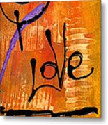 A Whirlwind Called Love Metal Print