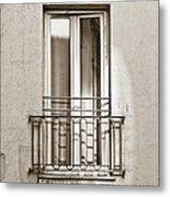 A Window In Paris Metal Print