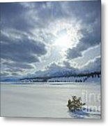 A Winter Sky Metal Print by Idaho Scenic Images Linda Lantzy