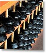 abacus III Metal Print