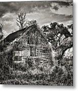 Abandoned Barn 2 Metal Print