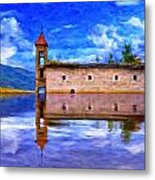 Abandoned Church In Macedonia Metal Print