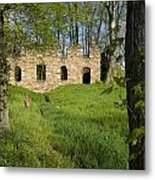 Abandoned Cider Mill Metal Print
