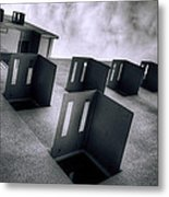 Abandoned Cities Of The Mind Metal Print