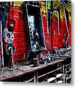 Abandoned In Richmond Virginia Metal Print