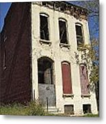 Abandoned In St. Louis Metal Print