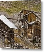 Abandoned Mine Metal Print