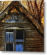 Abandoned Old House Metal Print
