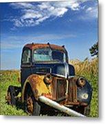 Abandoned Rusty Truck Metal Print