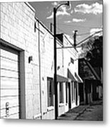 Abandoned Small Town Usa Metal Print