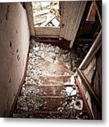 Abandoned Stairs 2 Metal Print