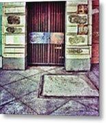 Abandoned Urban Building Metal Print