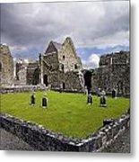 Abbeyknockmoy, Cistercian Abbey Of Metal Print