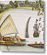 Abel Tasman Expedition 1643 Metal Print