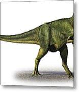 Abelisaurus Comahuensis, A Prehistoric Metal Print