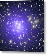 Abell 1689 Galaxy Cluster, X-ray Image Metal Print by Nasacxcstscimite-h Peng Et Al