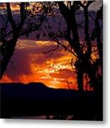 Abiquiu Sunset II Metal Print