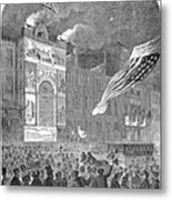 Abolition Of Slavery, 1864 Metal Print