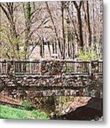 Aboratorium Bridge Metal Print