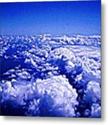 Above The Clouds Abstract Metal Print