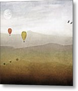 Above The Rolling Hills Metal Print by Tom York Images