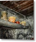 Above The Stove Metal Print by Jutta Maria Pusl