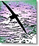 Above The Waves Metal Print