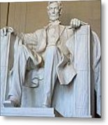 Abraham Lincoln Metal Print by
