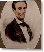 Abraham Lincoln, 16th American President Metal Print